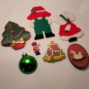 Other - Lot of Holiday Refrigerator Magnets (7)